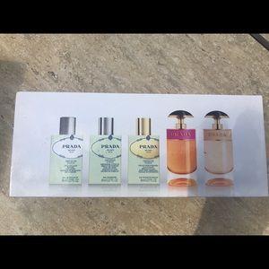 The Prada miniature collection